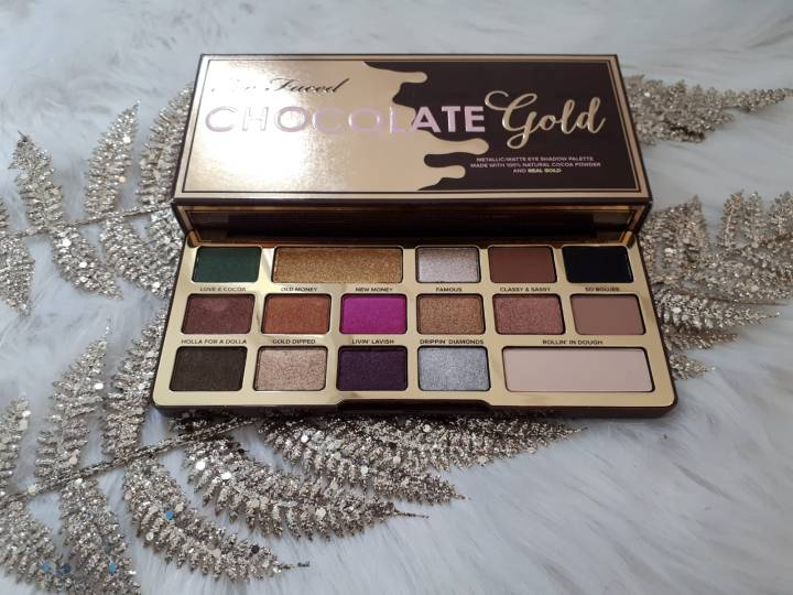 Too Faced Chocolate Gold palette review